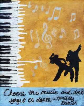 Music & Dance 16x20