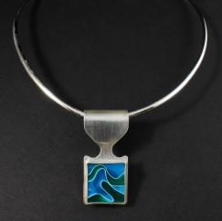Howington_A_Blue Green Swirl